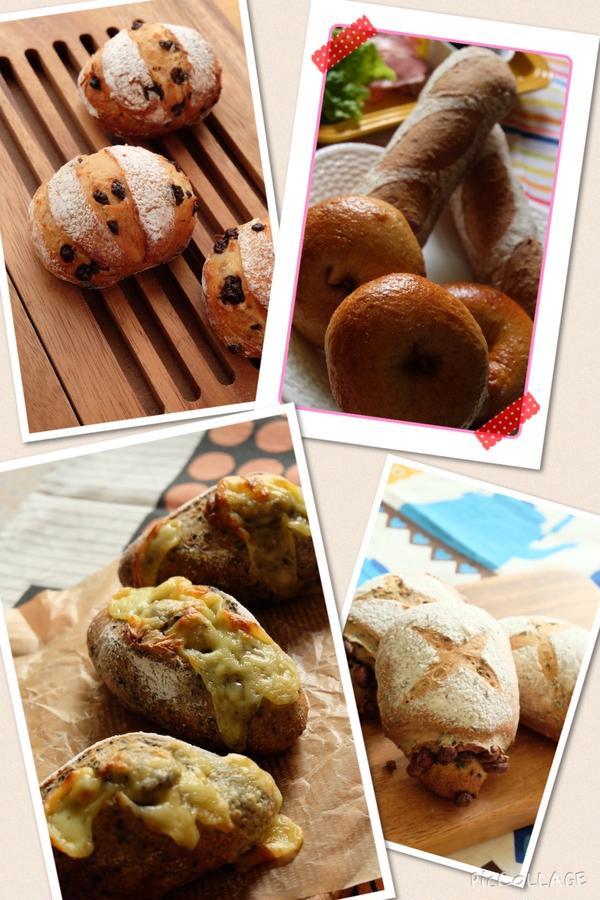 自家製天然酵母パンの一例です。天然酵母パンなのに固くない!?