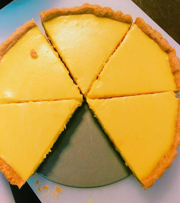 ハロウィンレッスンより 卵、乳製品不使用のかぼちゃのタルト