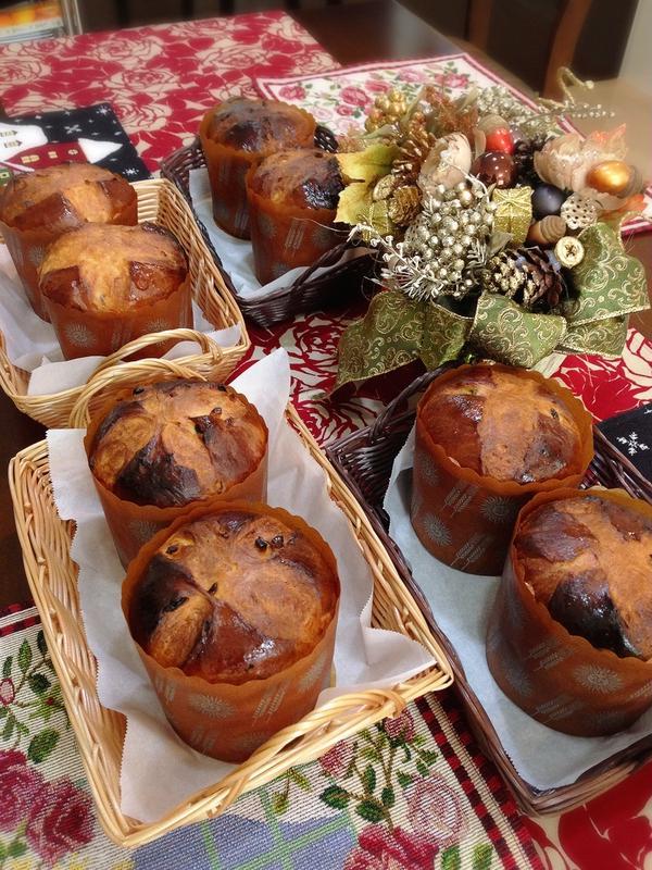 クリスマスのパン、パネトーネ
