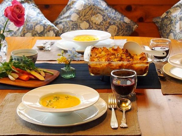 シンプルなお料理も、ポイントをおさえておもてなし仕様に。