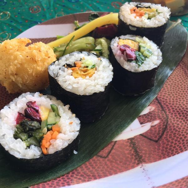 2017年12月はハワイにて英語で寿司ワークショップを開催