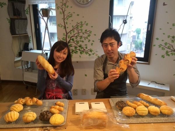 焼きたてのパンより熱いご夫婦でした!