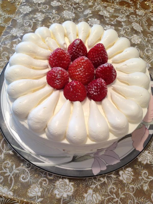 リクエストのバースデイケーキ