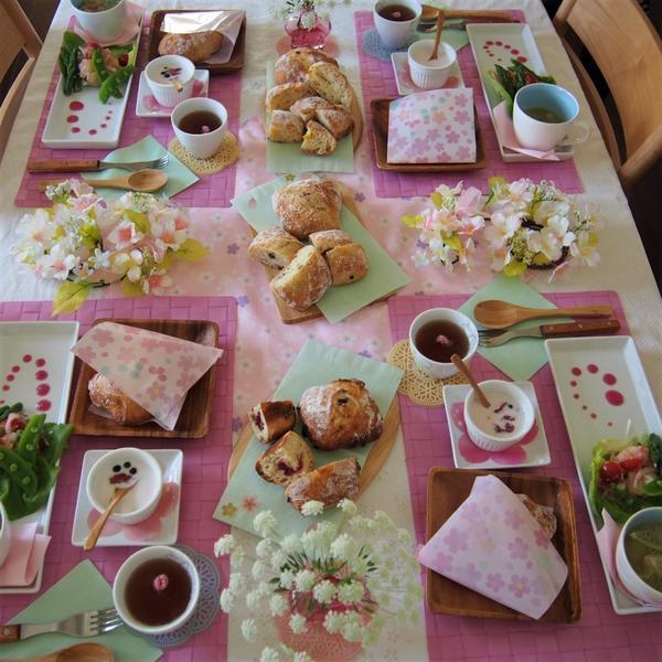 春の特別レッスンは、リュスティックと春の食材を使ってランチ