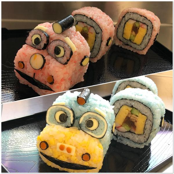 立体の巻き寿司はお子さまウケバッチリです!