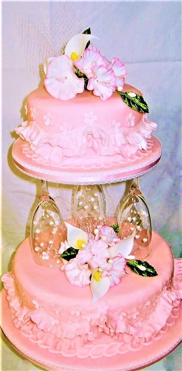 シュガーデコレーションケーキ