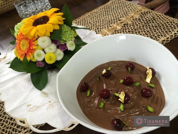 チョコレートムースも卵、生クリーム、バター、白砂糖不使用です