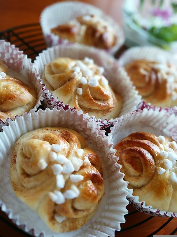 飯能市はムーミンで有名なのでフィンランドのパンも作ります