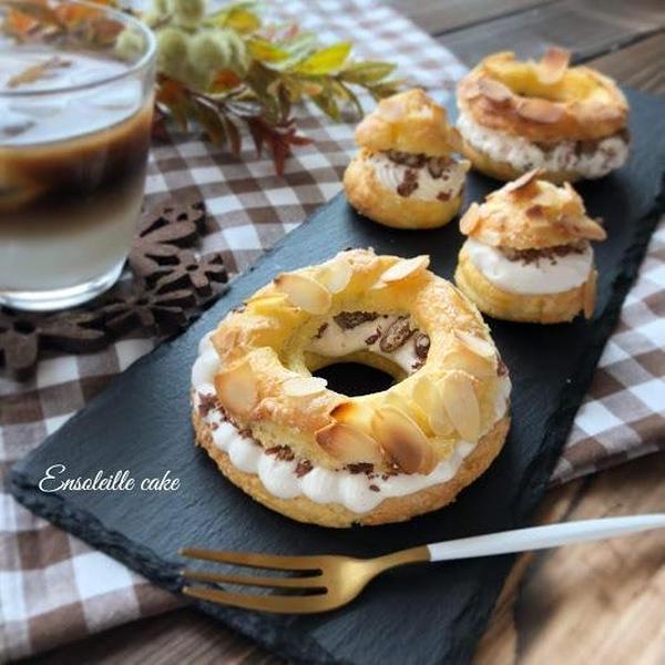 栗×チョコのパリブレスト/ケーキレッスン
