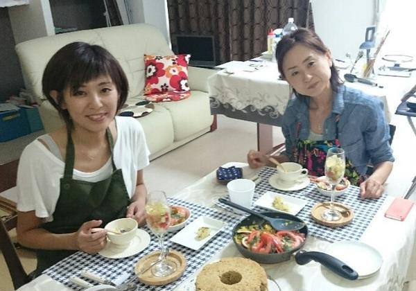 楽しくお料理して美味しい試食タイム(*^_^*)