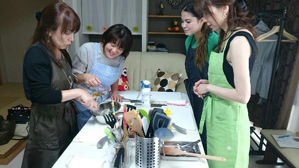 お料理大好き!出来上がりが楽しみです(*^^)v