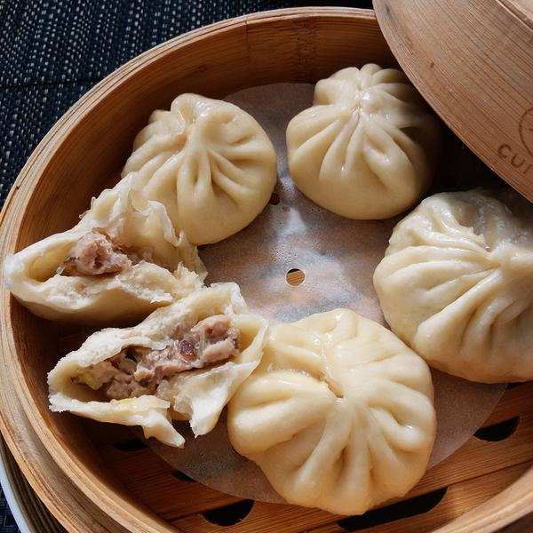 中国東北地方の食卓☆ メイさんの包子