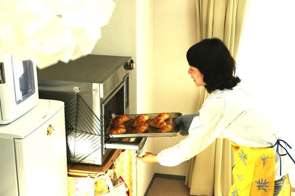 オーブンは武蔵フィスを使用しています。