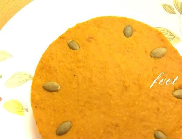かぼちゃのクリームタルト。濃厚な美味しさが大好評!