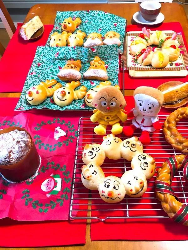 クリスマススペシャルレッスン の試食テーブル