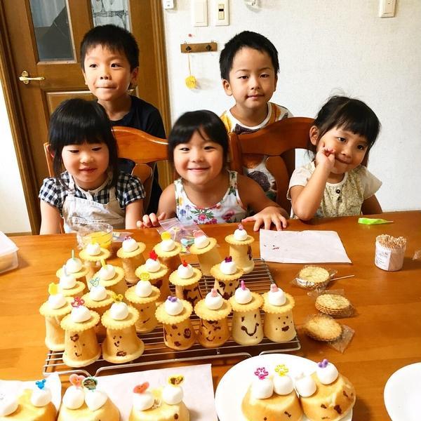 夏休み 子供パン教室