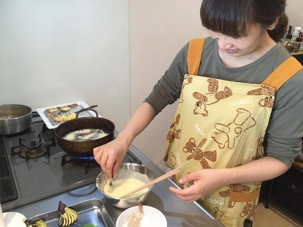 天ぷらのレッスンは生徒さんにも好評をいただいています!