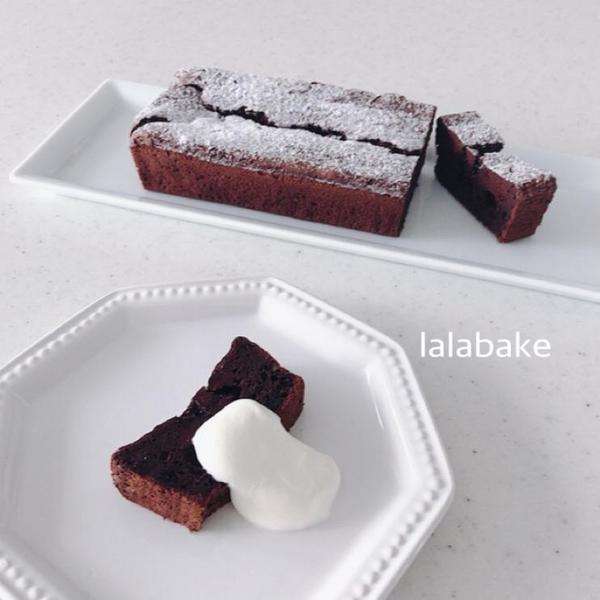 シュークリームsetメニュー「簡単チョコケーキ」