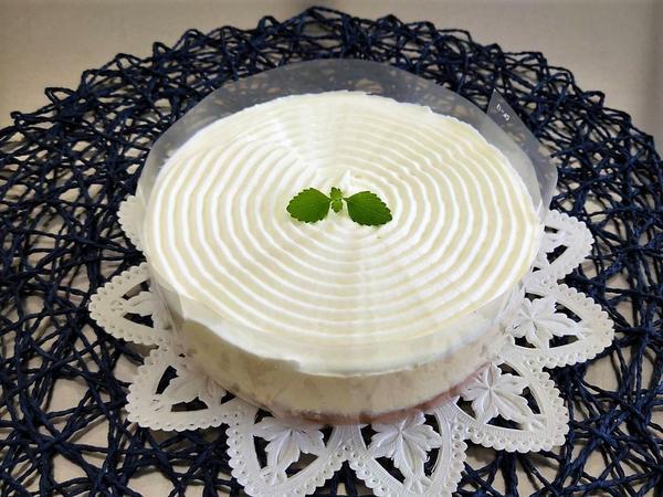 生徒さんの作品 「基本」コースStep3コールドチーズケーキ