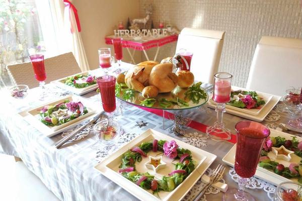 丸鶏のハーブローストでクリスマスレッスン♪