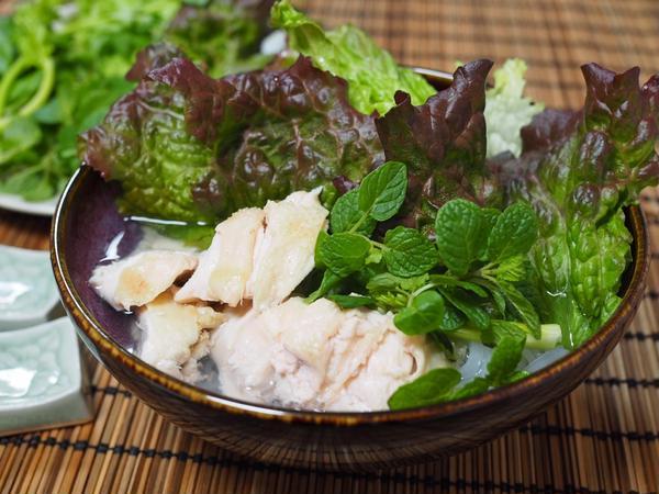 2017年3月のベトナム料理 鶏肉のフォー