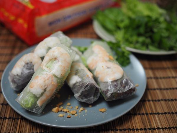 2017年3月のベトナム料理 本場の生春巻き