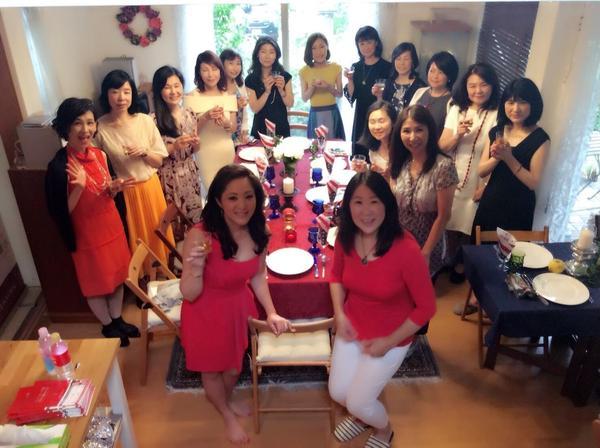 NY在住人気料理家☆ひでこコルトン先生の出版記念パーティ開催