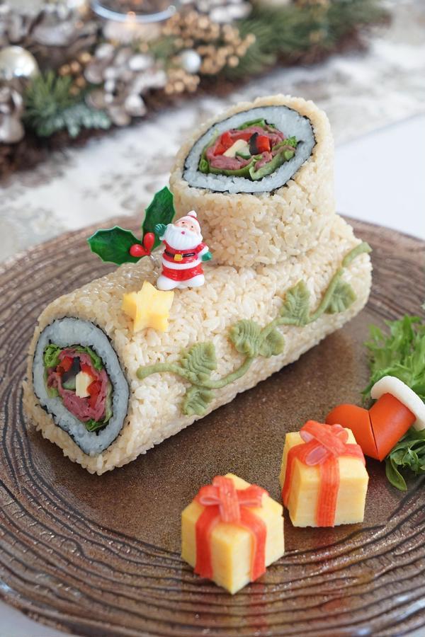 料理コンテストでグランプリをいただいたクリスマスノエル