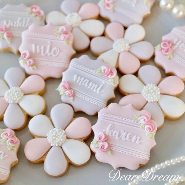 世界に1つのアイシングクッキーを贈りませんか?