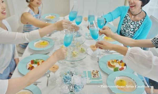 【一回完結型レッスン】 料理&テーブルコーディネート