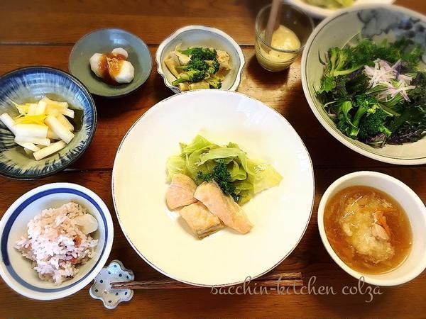 健康旬菜教室~胃腸を整えるごはん~