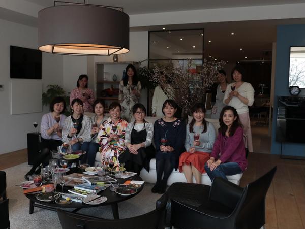 お花見LABO~アムスタイルキッチン福岡にて