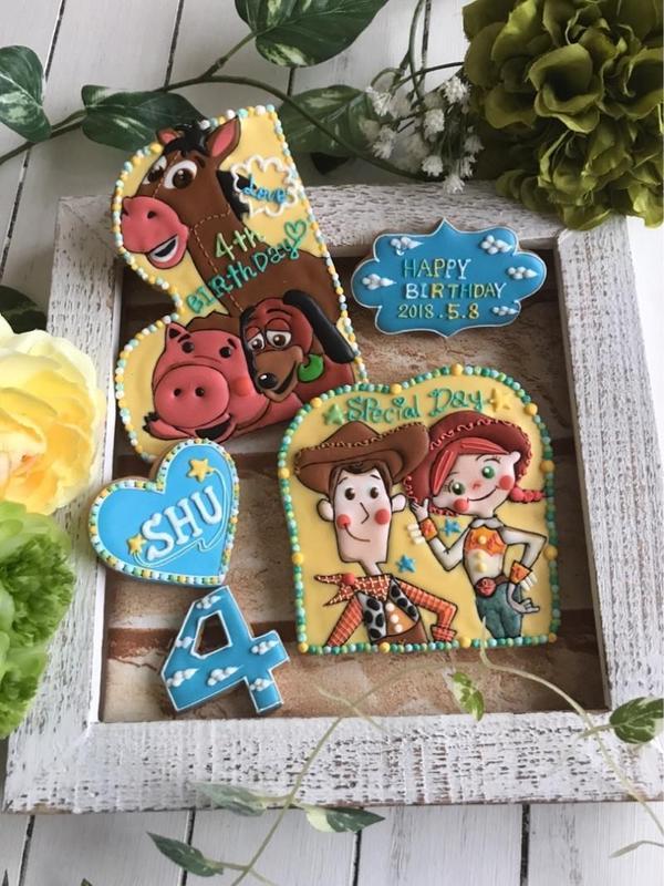 子供の誕生日にかわいいアイシングクッキーを作りませんか?