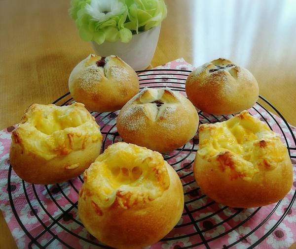 チーズがすきな方におすすめのチーズパン♡