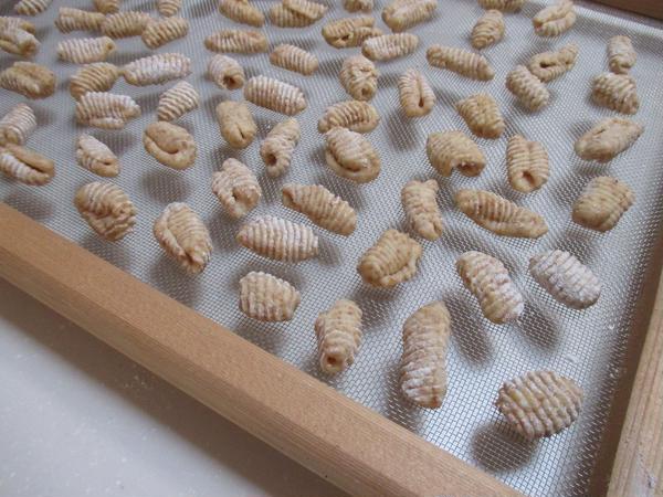 貝殻型のパスタ