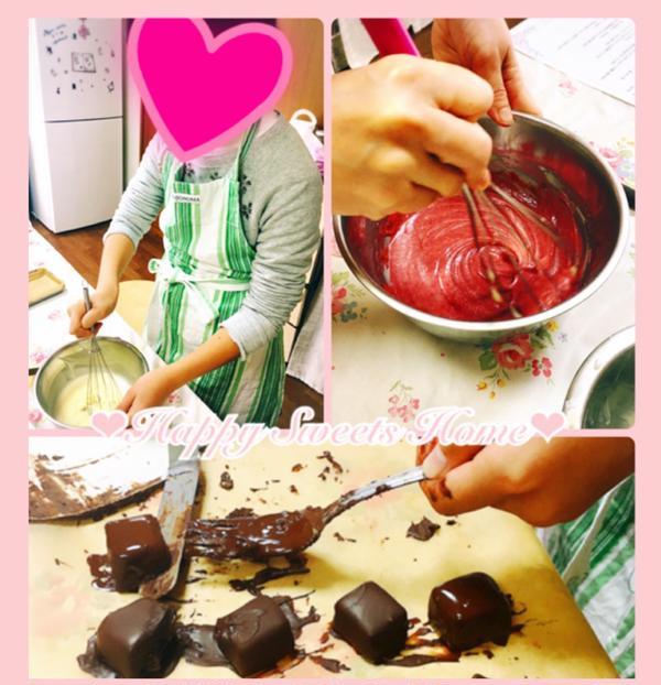 小学生でもわかりやすい教え方でお菓子の基本が学べます♪