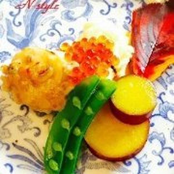 『お家de小京都』華やかな彩りを添える八寸