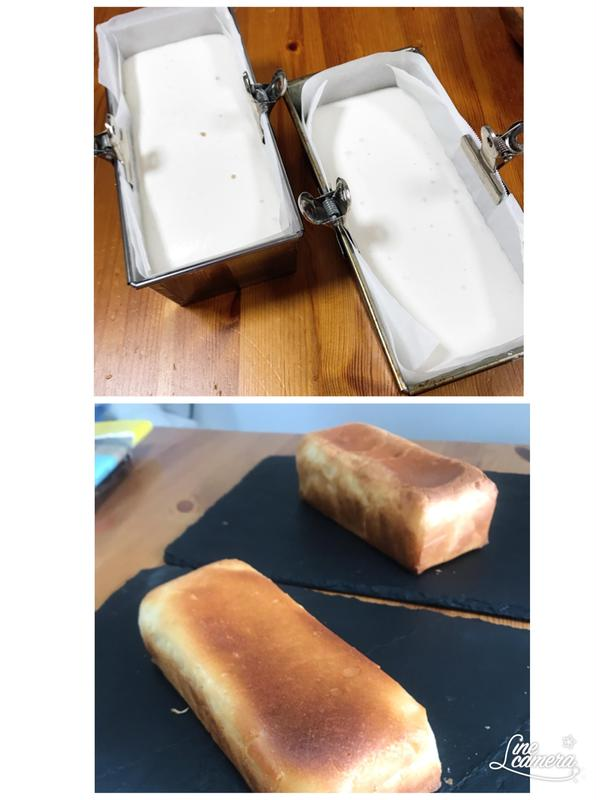初めてさんでも簡単 基本の食パン焼きあがりました!
