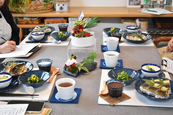 焼きサバ寿司のレッスン