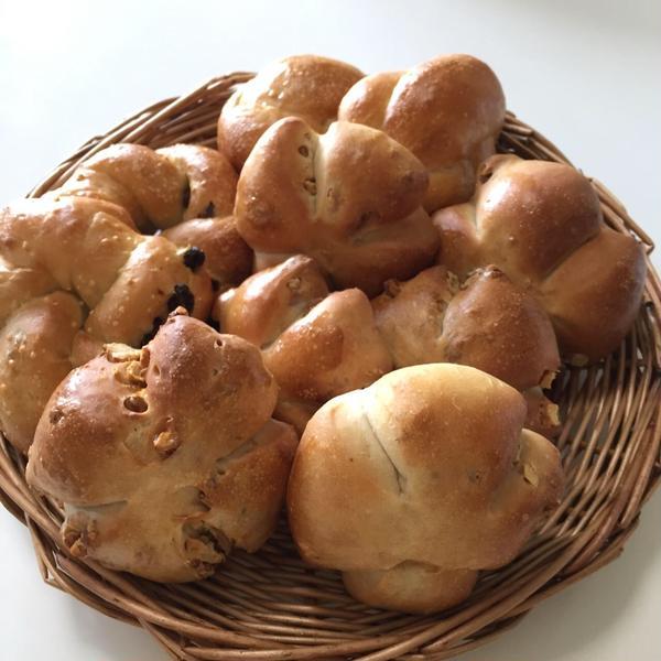 焼き立てパンは美味しいよ!