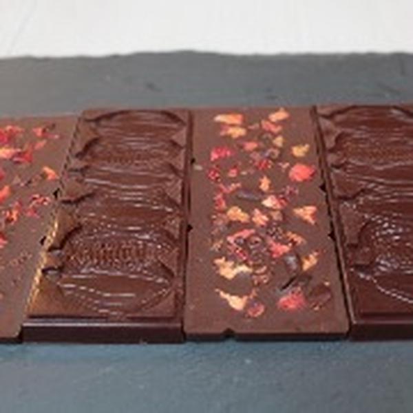 できあがったチョコレート