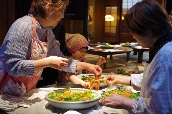 京都町家 旬の魚を丸ごと生かす料理教室 桜鱒