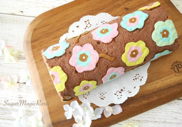 お好きな画像で作れるお絵かきロールケーキ