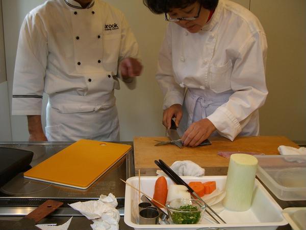 韓国の方が和食を習いに日本に訪れました