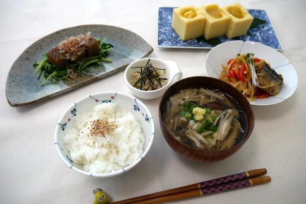 2017年10月 秋の和食① 取材を受けました。