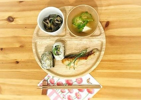 -Menu F-和食 ローズマリー香る白身魚の西京焼き