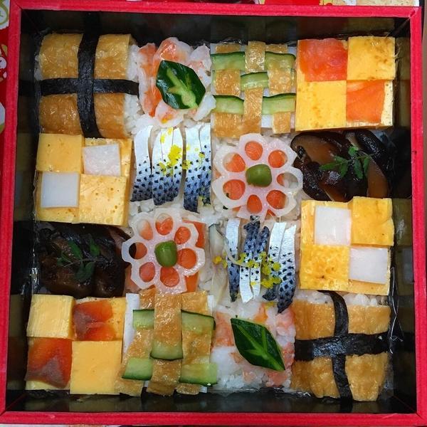 母の日、父の日、お花見にぴったりなモザイク寿司のレッスン