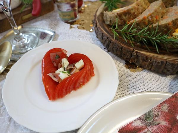 ハートトマトも、おもてなしにぴったり!