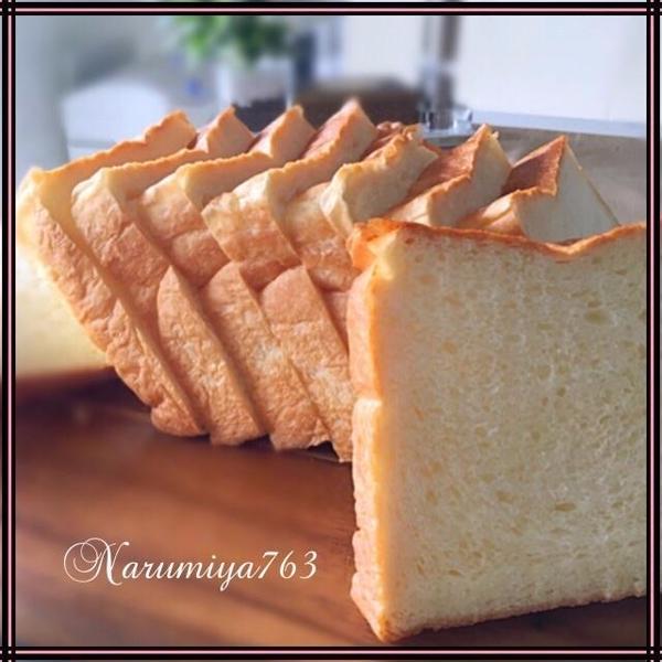 ポーリッシュ種を使って基本の食パン。