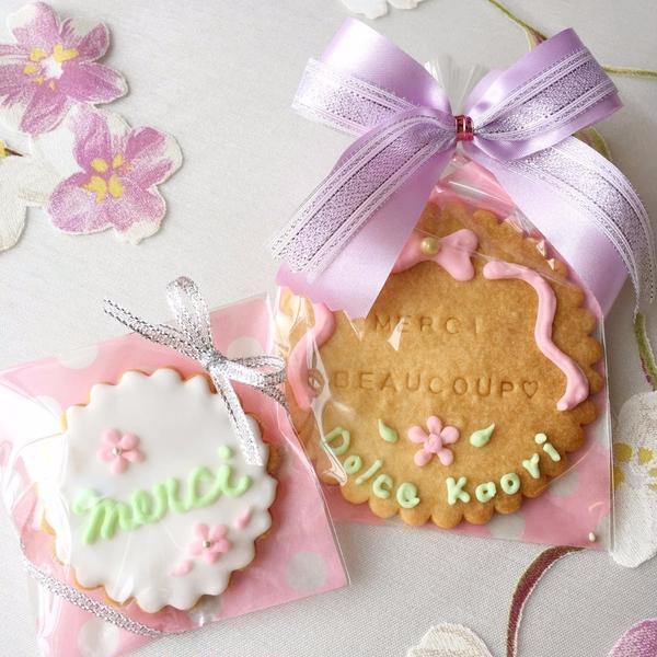 アイシングクッキー(一例)